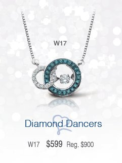 Diamond Dancer Pendant